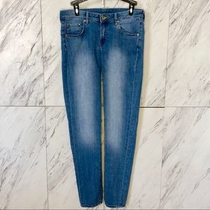 H&M Super Skinny Low Waist Denim Jeans SZ 29/32